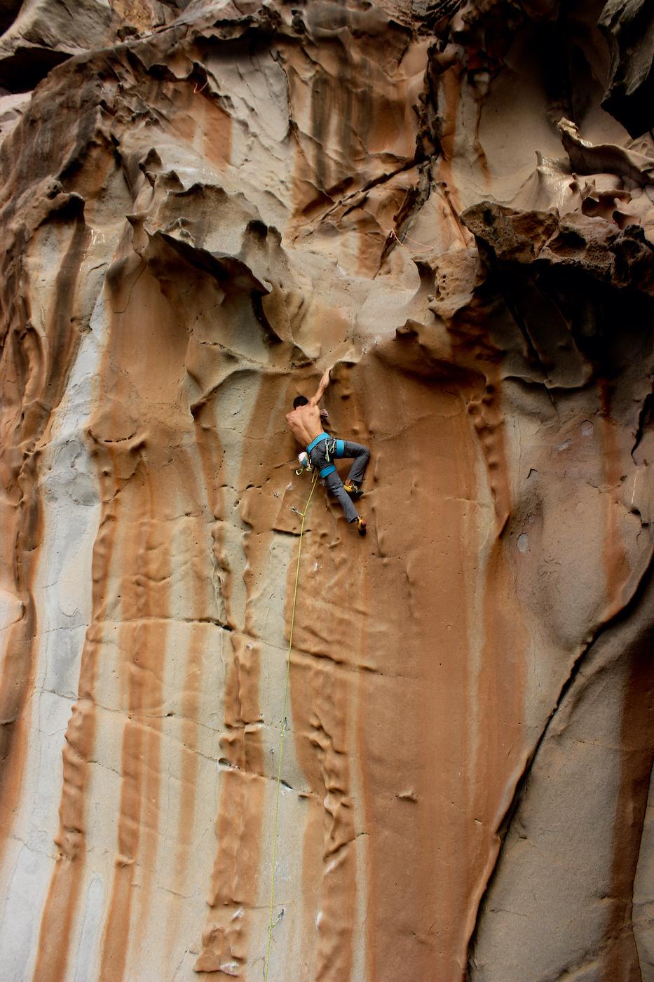 The best rock climbign destination in Africa?