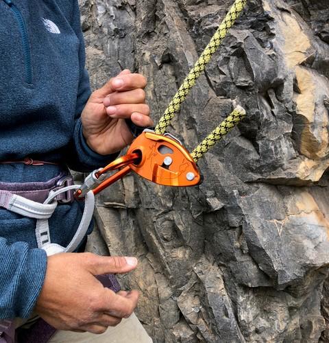 Dangerous practices sport climbing