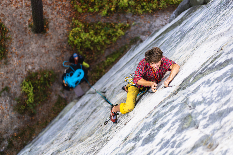Rock climbing in Czesky Raj