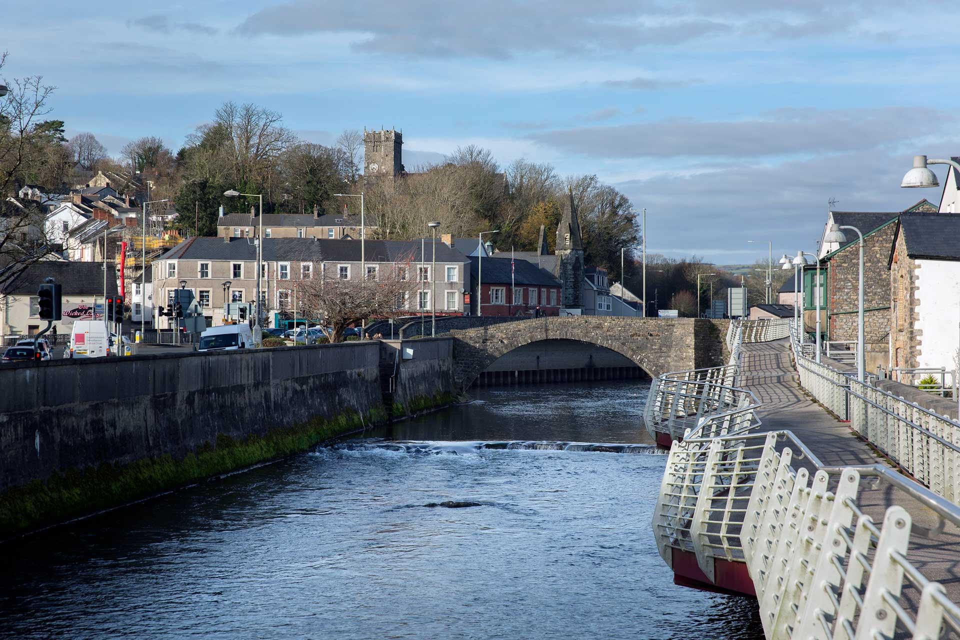 The Old Bridge Bridgend