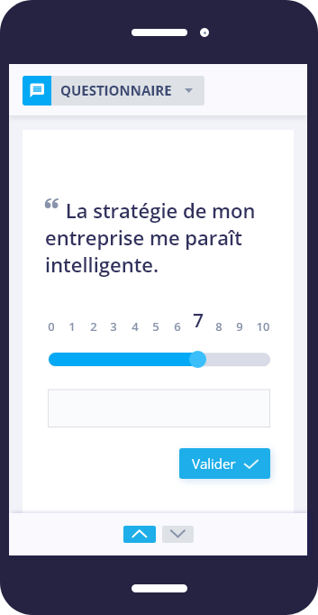 On-demand survey