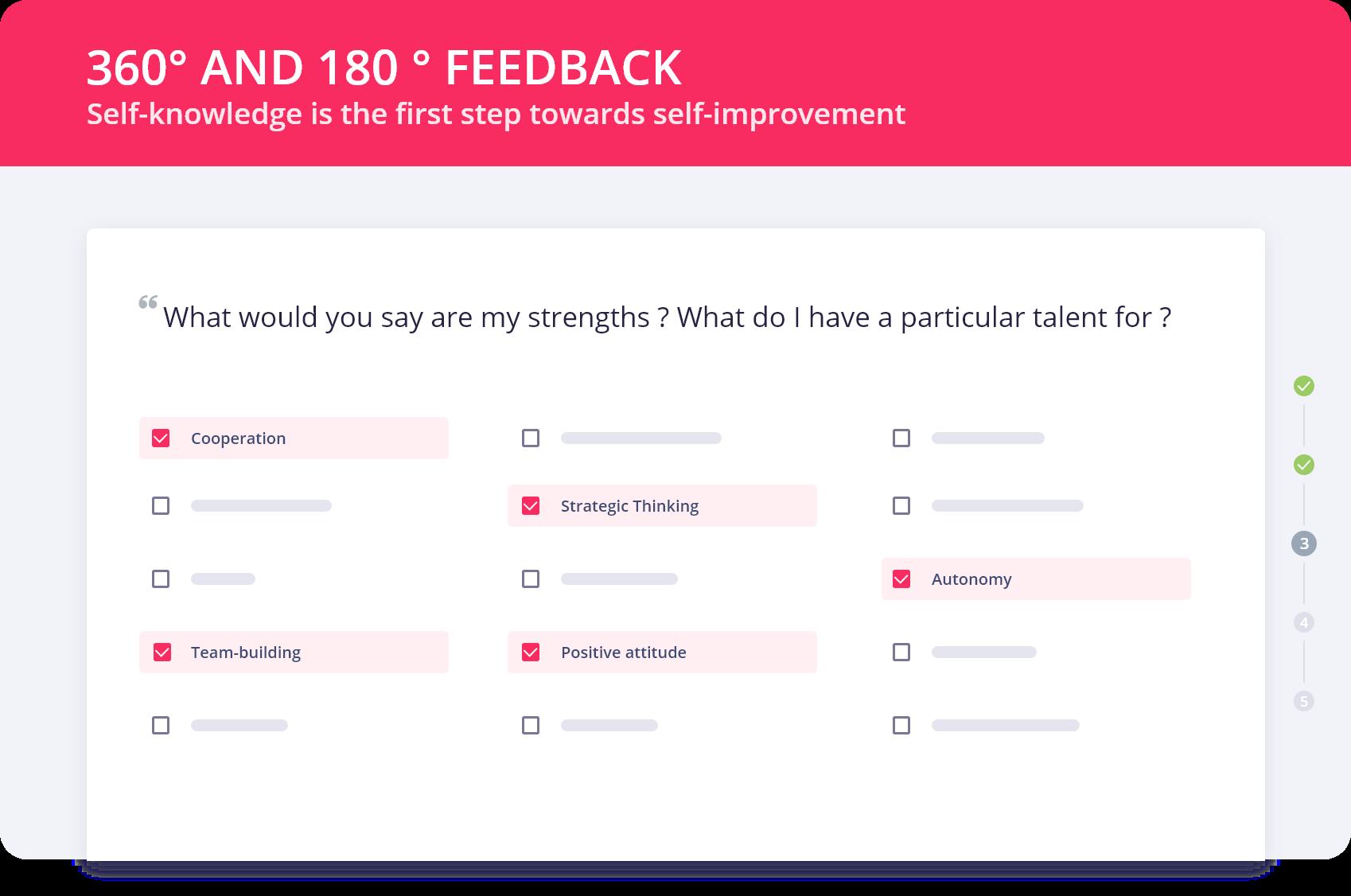 360° and 180° feedback