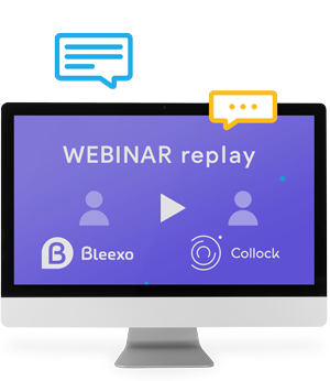 Visuel Webinar Bleexo avec Collock