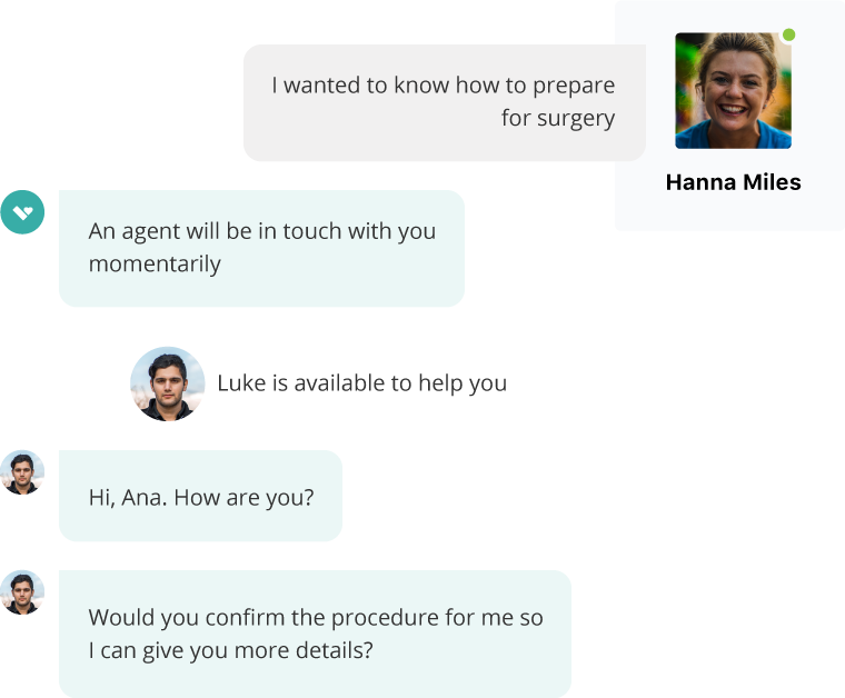 The Aivo bot responds to a query from a user on WhatsApp or on the website.
