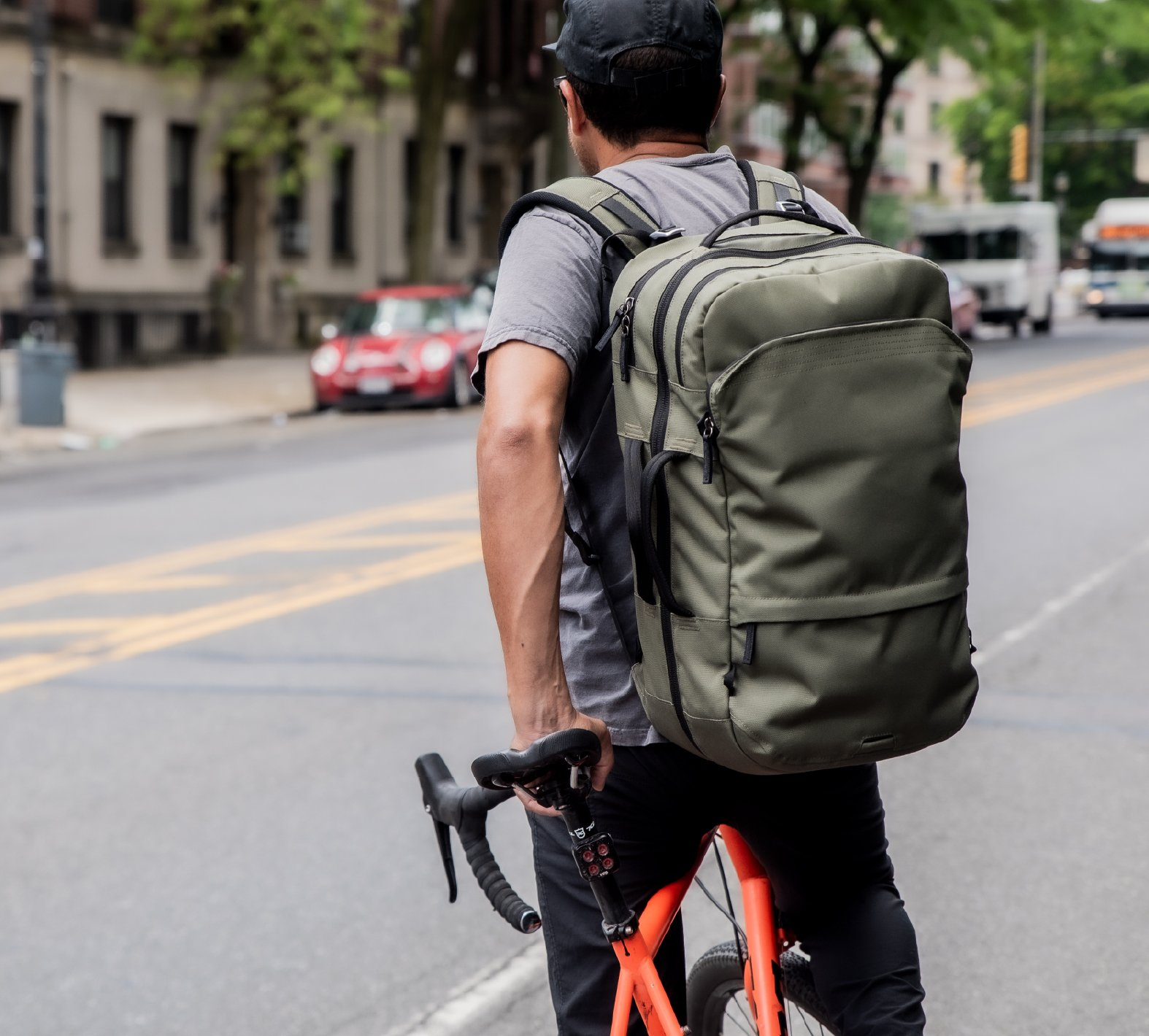 The Pakt Travel Backpack