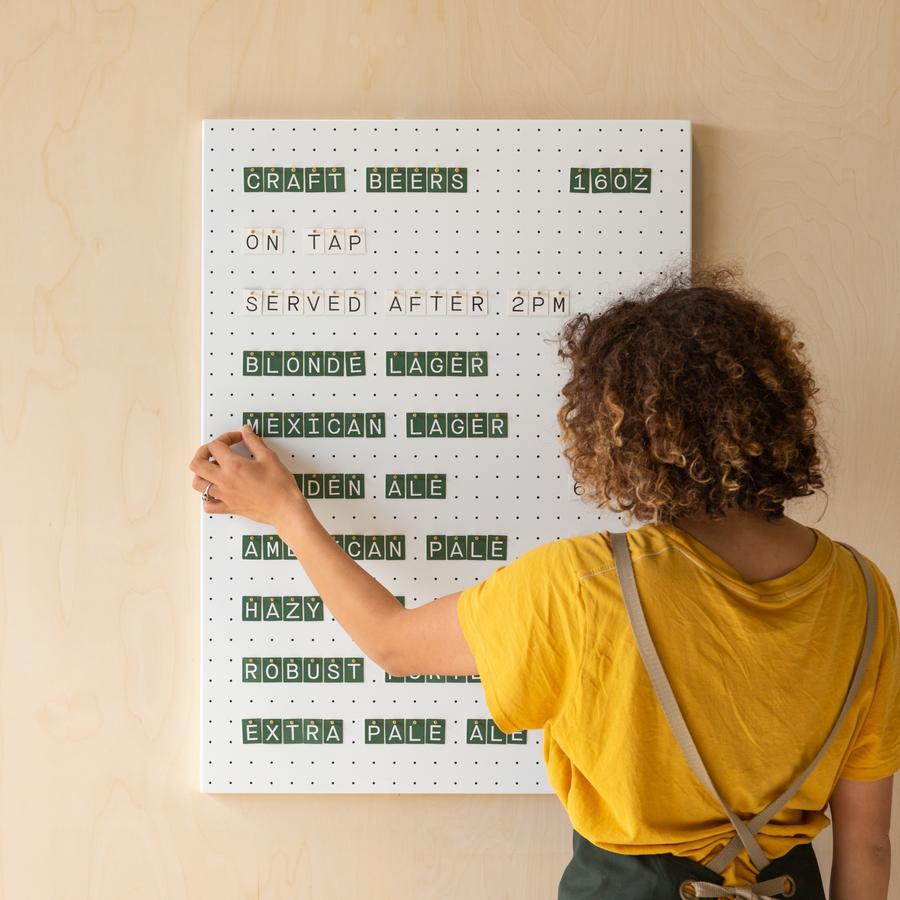 Dowel Letter Board