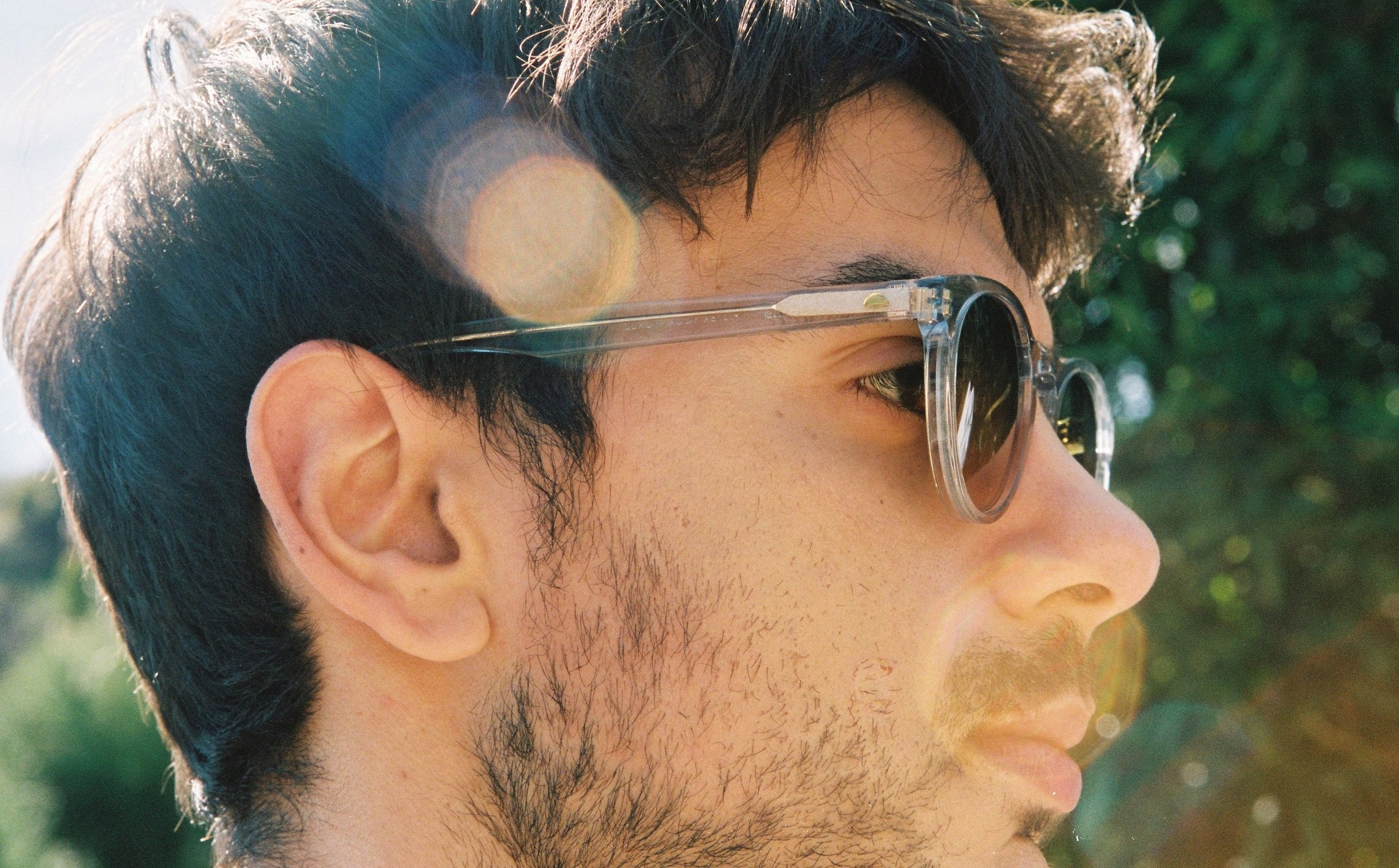 A man wearing Ten's original sunglasses