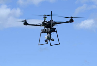 LiDAR sur drone Freefly