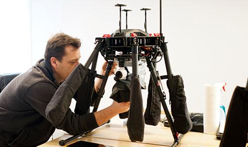 Intégration personnalisée des drones
