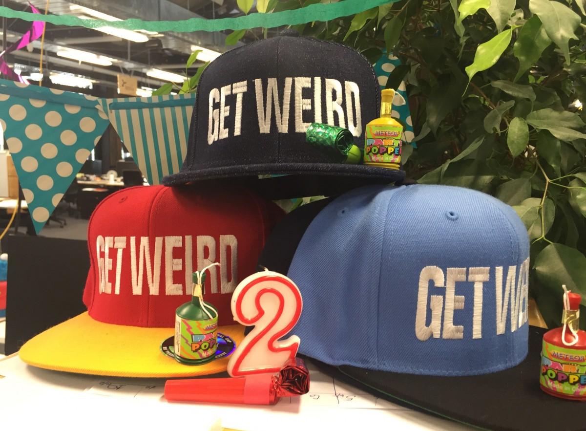 Weirdly #wellnesschallenge hats
