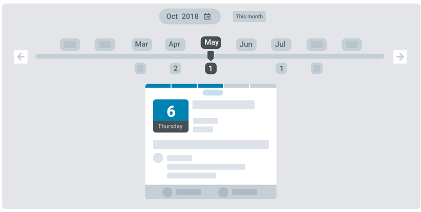 Example of board meeting annual calendar as part of meeting agenda