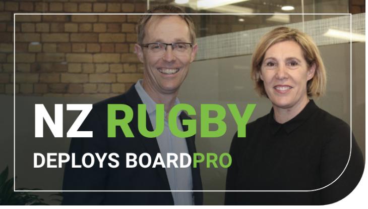 Kiwi tech company BoardPro scores NZ Rugby deal