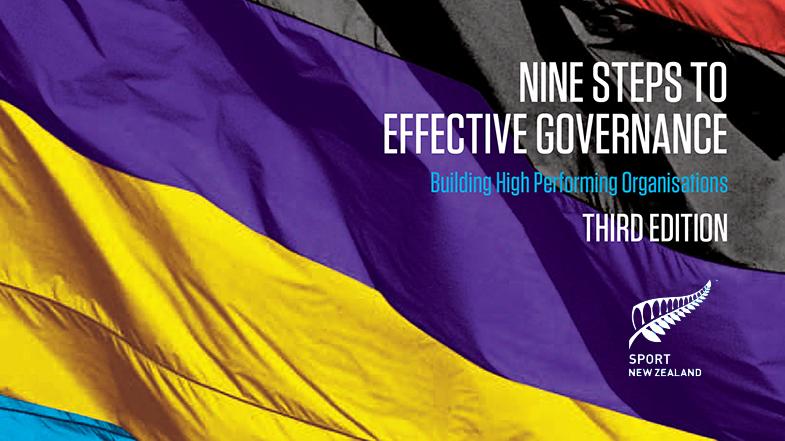 Nine Steps to Effective Governance