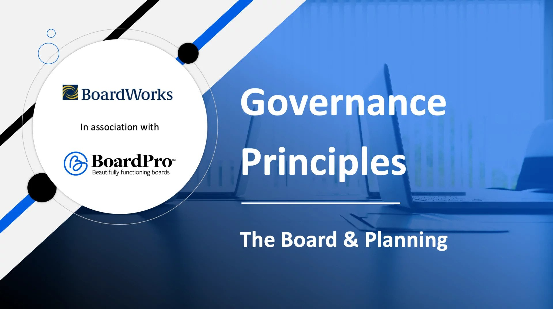 Boards role in planning