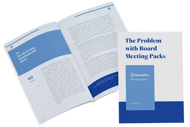 The problem with board meeting packs