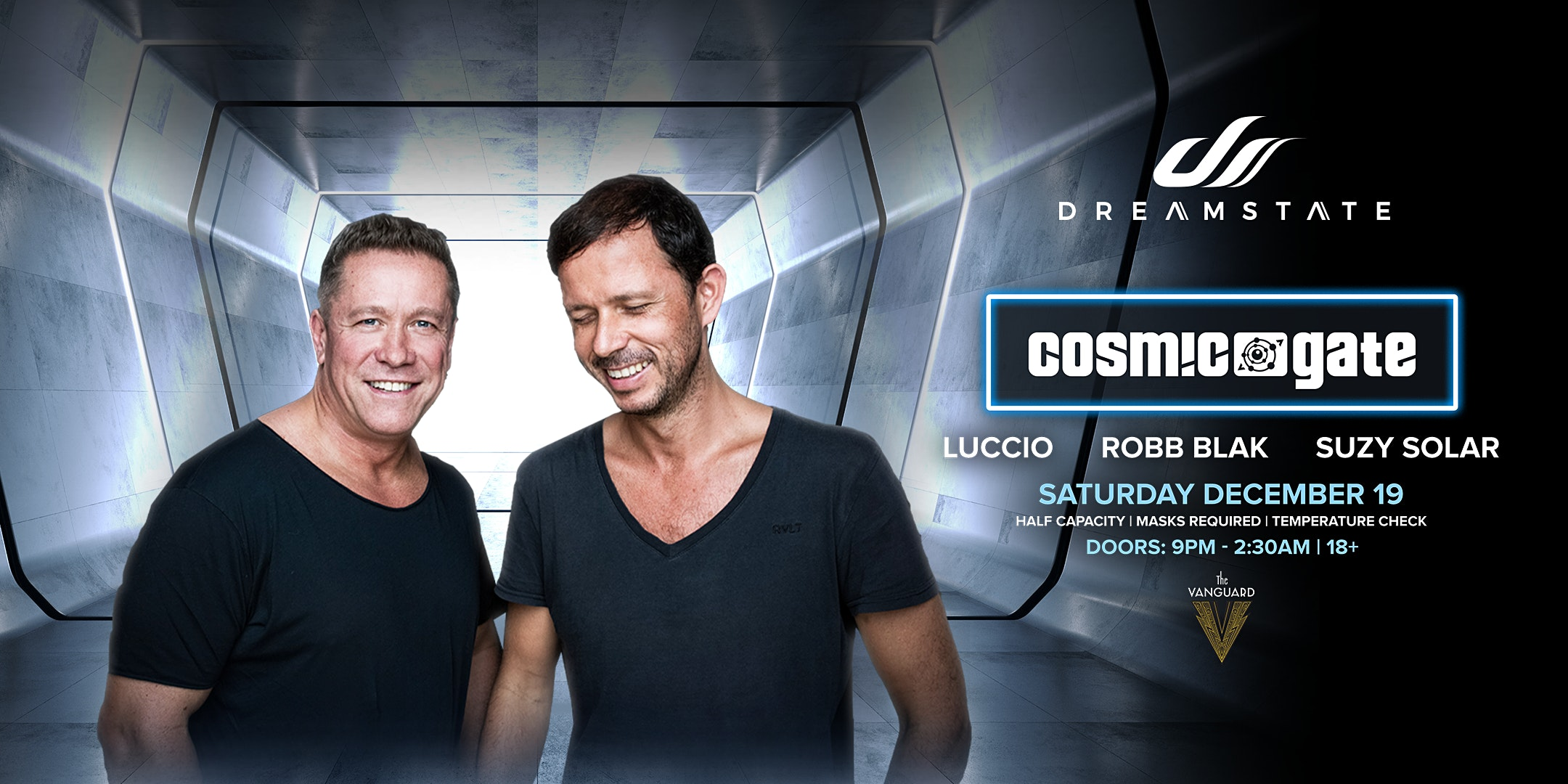 Dreamstate featuring Cosmic Gate