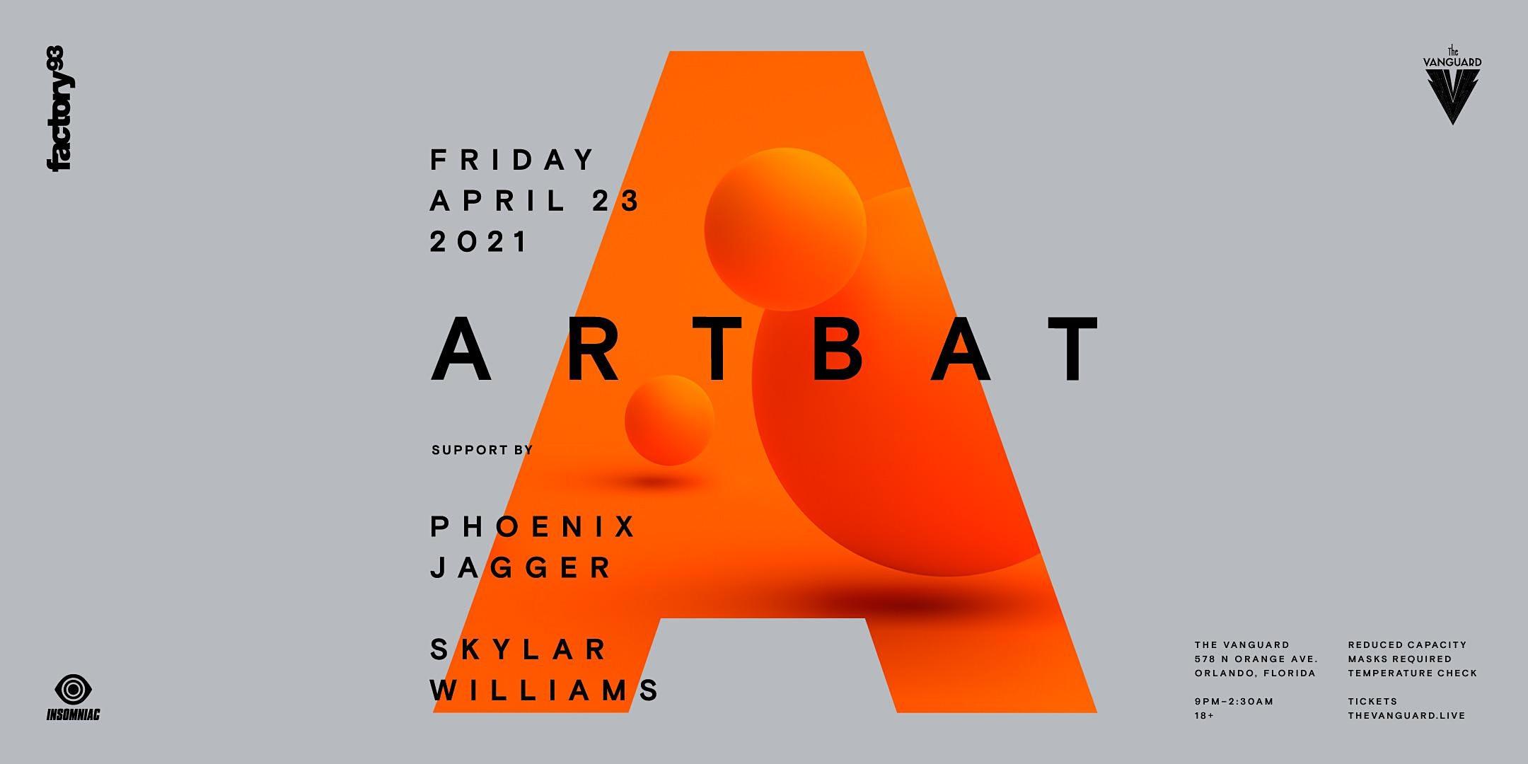 FACTORY 93 Presents : ARTBAT