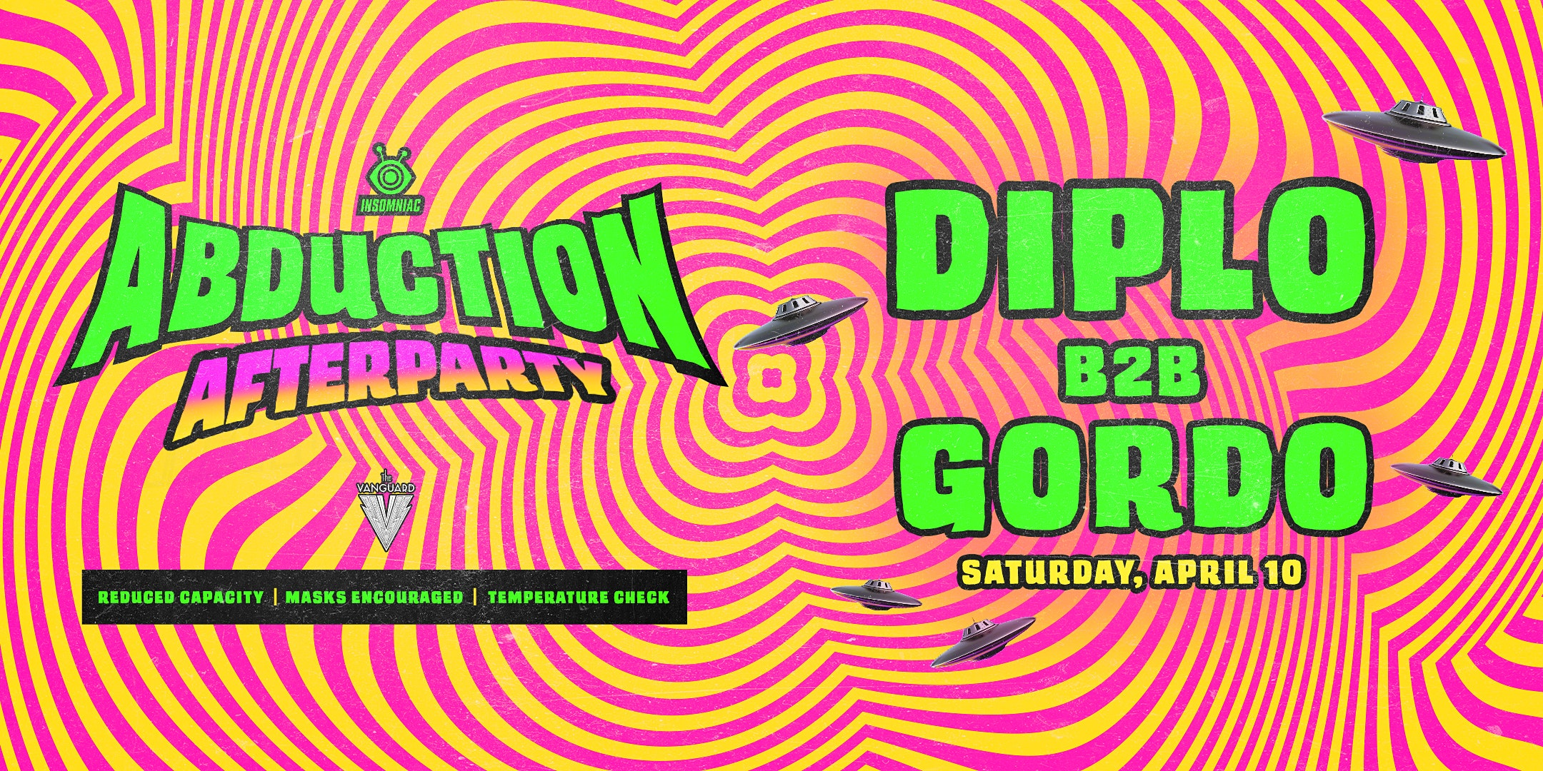 ABDUCTION AFTERPARTY -  DIPLO B2B GORDO