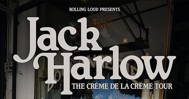 Jack Harlow Crème de la Crème Tour presented by Rolling Loud and LN