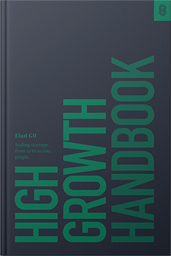 High Growth Handbook by Elad Gill