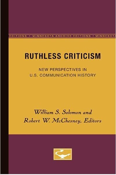 Ruthless Criticism