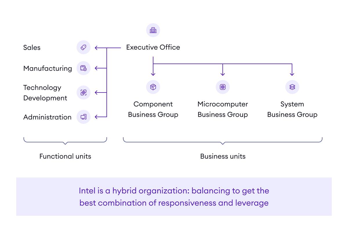 A hybrid organization