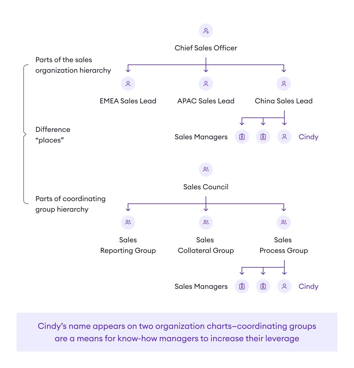 The two-plane organization