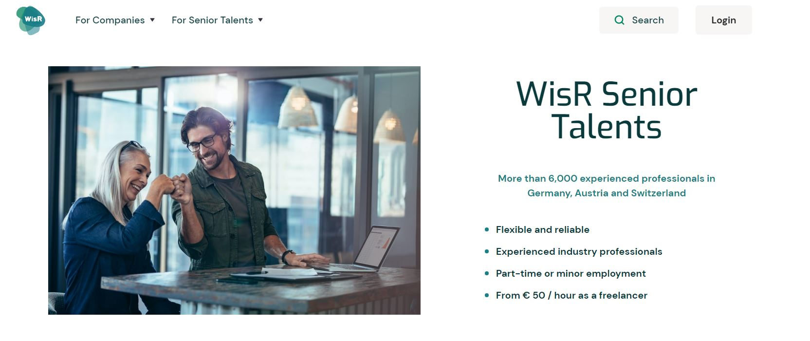 Relaunch: New Homepage with even more Benefits for Companies