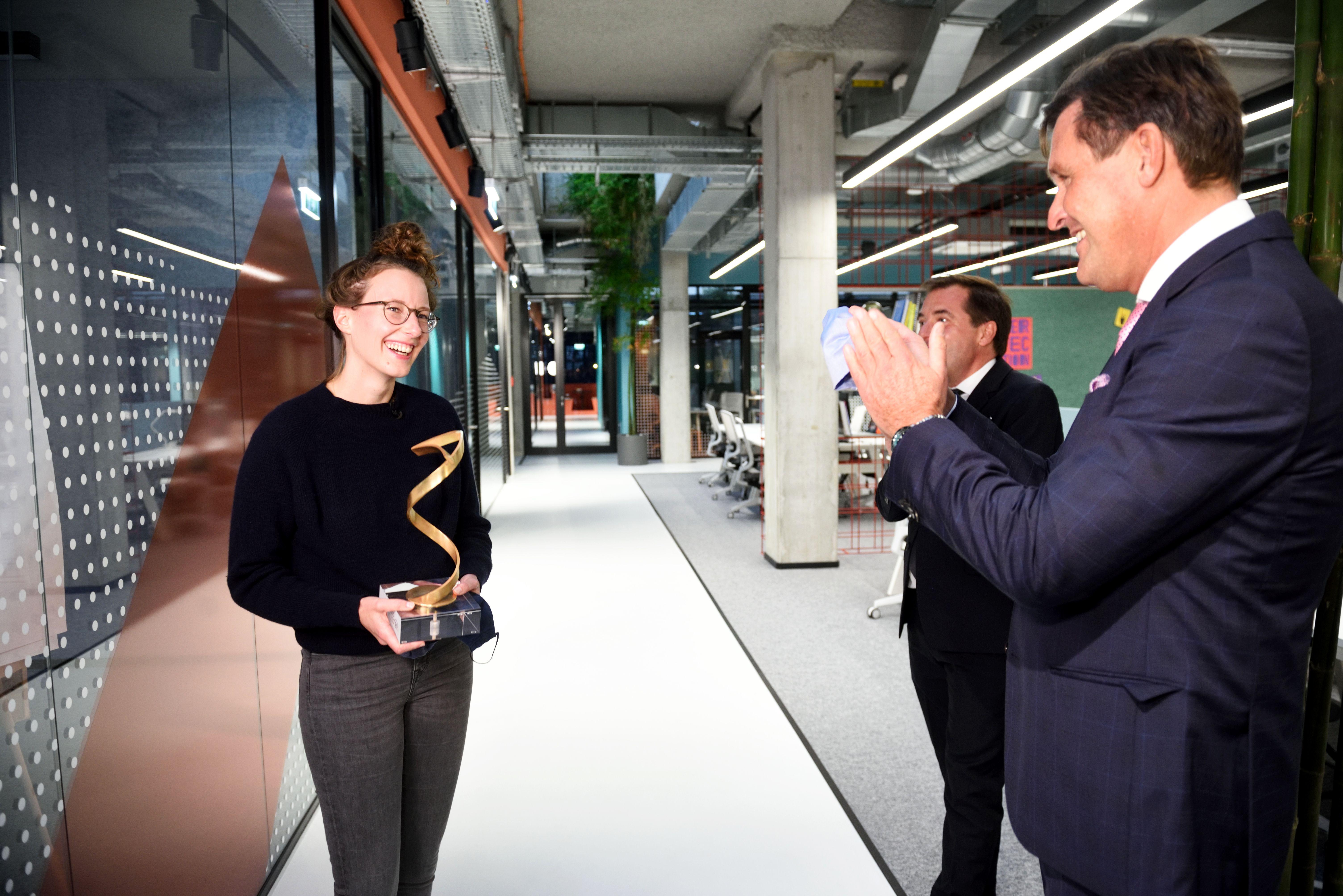 """WisR-CEO Klaudia Bachinger ist """"Österreicherin des Jahres"""""""