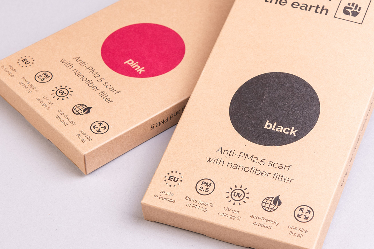 Anti-Pollution Mask Box