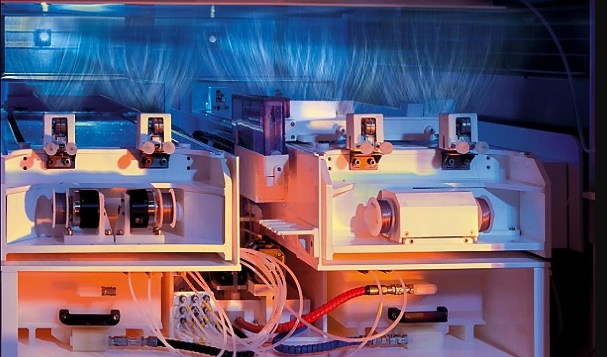 A machine that creates nanofiber materials