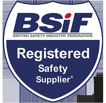 BSiF Registered Safety Supplier Logo