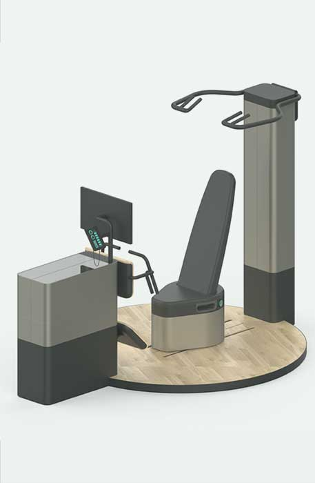 AURUM sokinetic exercise machines powerful software for real-time visualisation