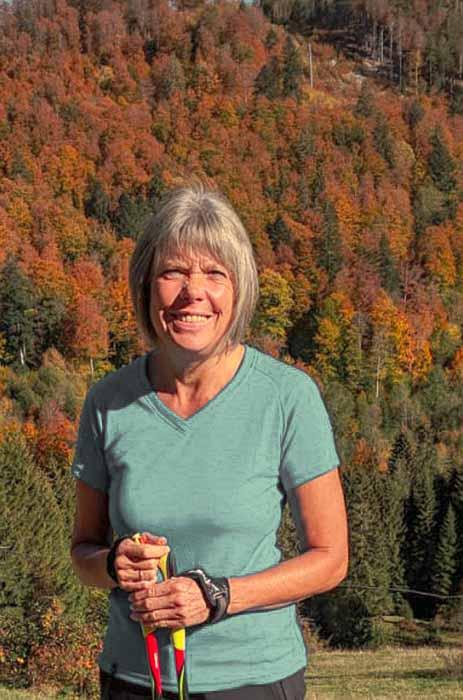 Andreas enjoys life hiking - Back pain gone, bone density increased, osteoporosis reversed