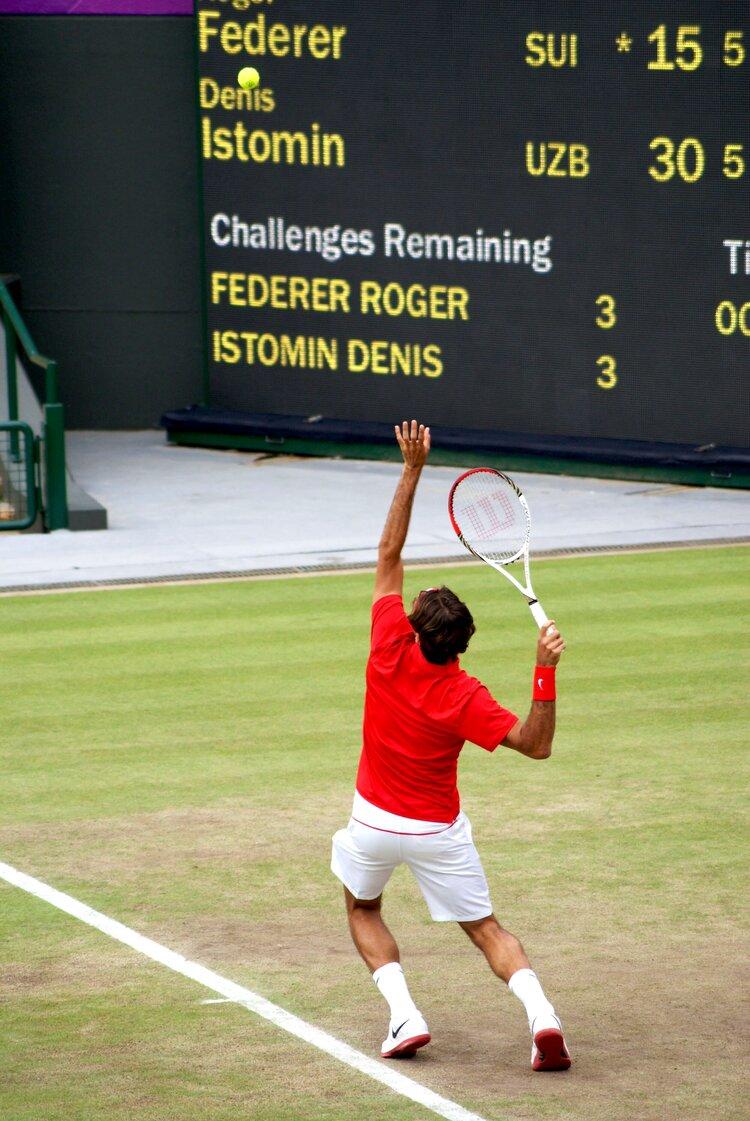 Roger Federer, Olympics 2012