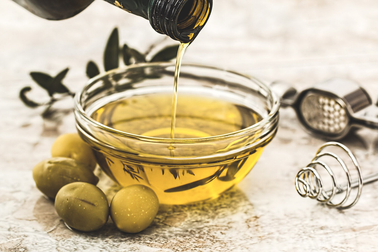 High quality olive oil - rich in reservatrol