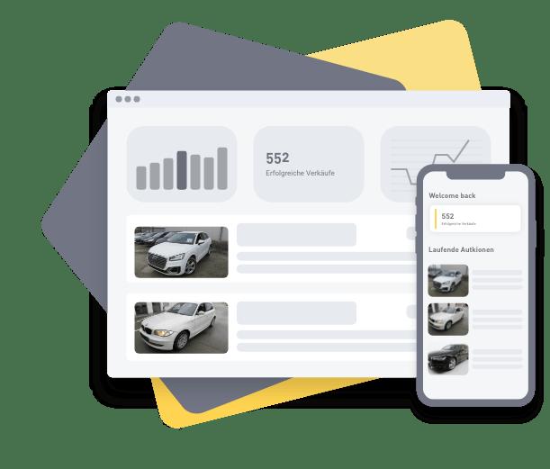 Übersicht der verkauften Händlerfahrzeuge