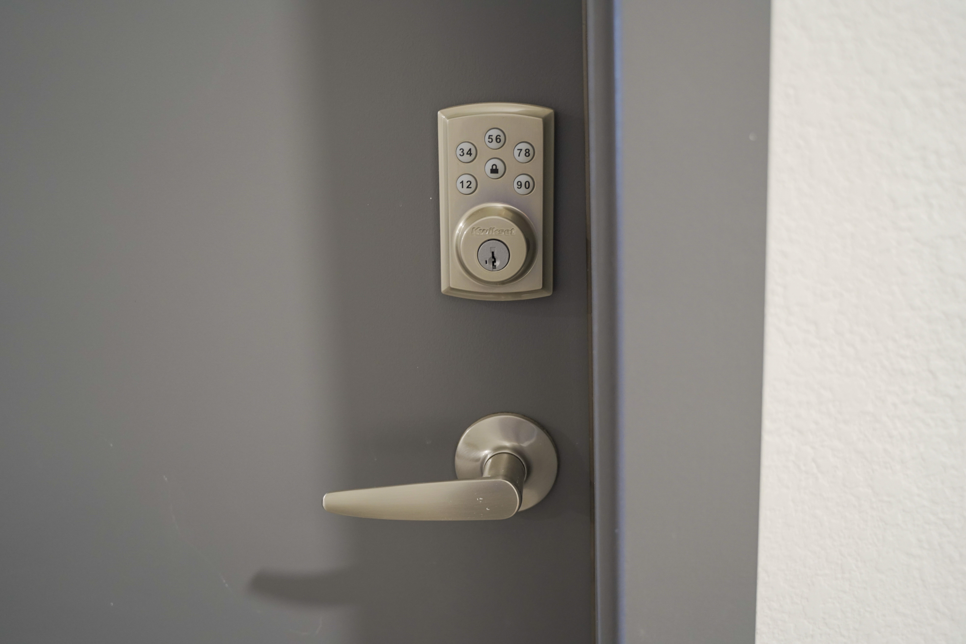 keyless apartment entry