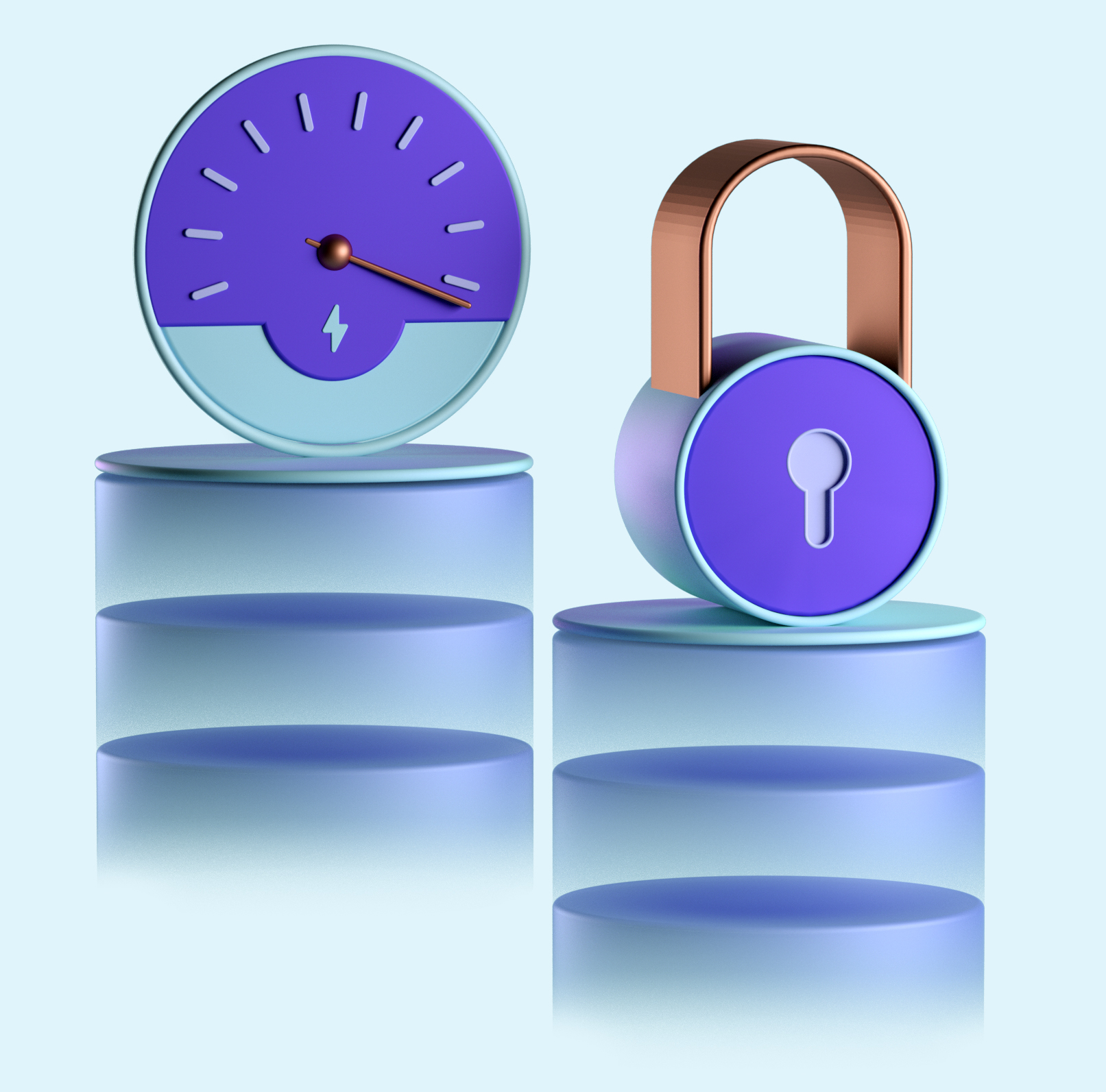 Balance security and performance