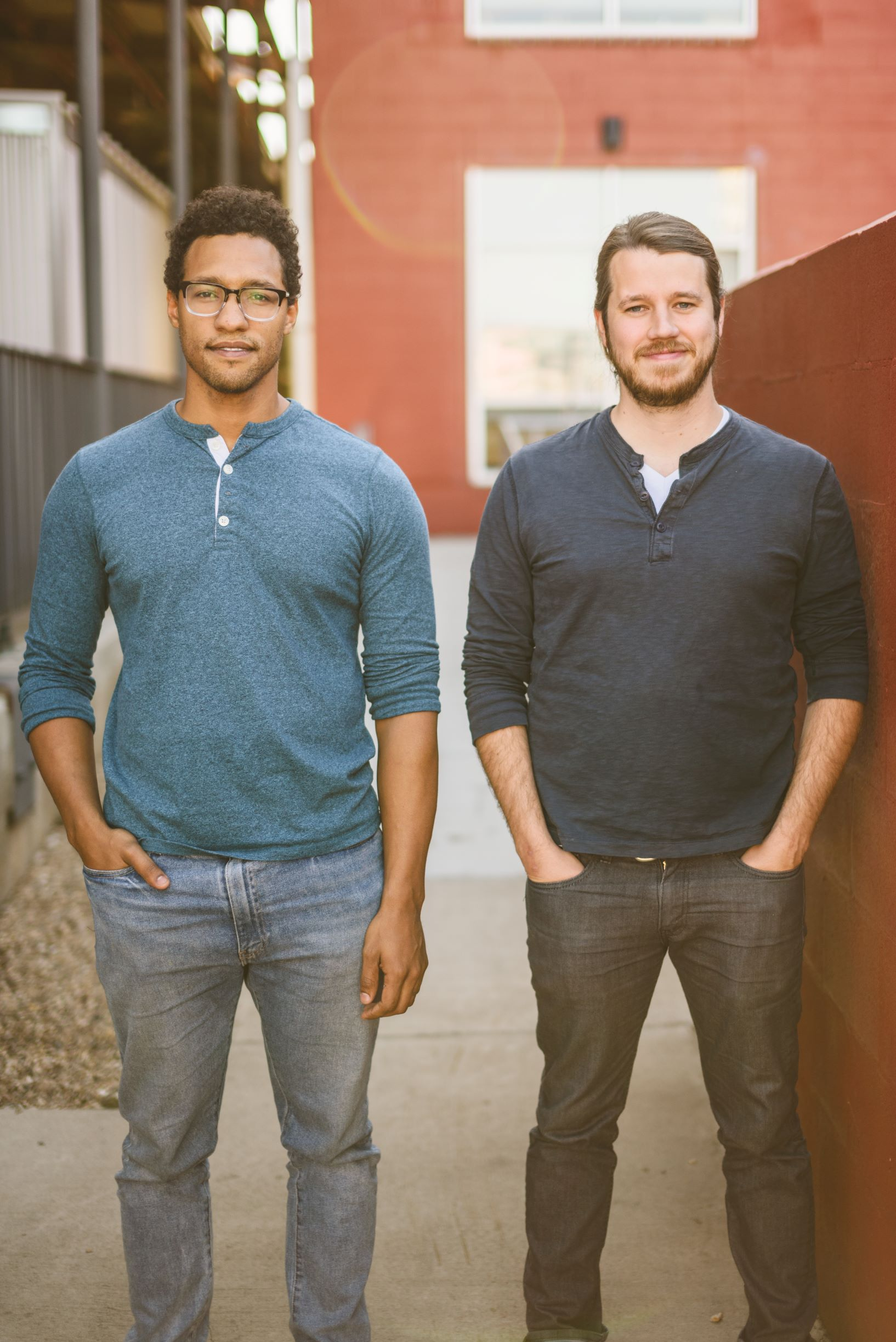 BLDR cofounders: Brandon Lewis and Luke Rabin