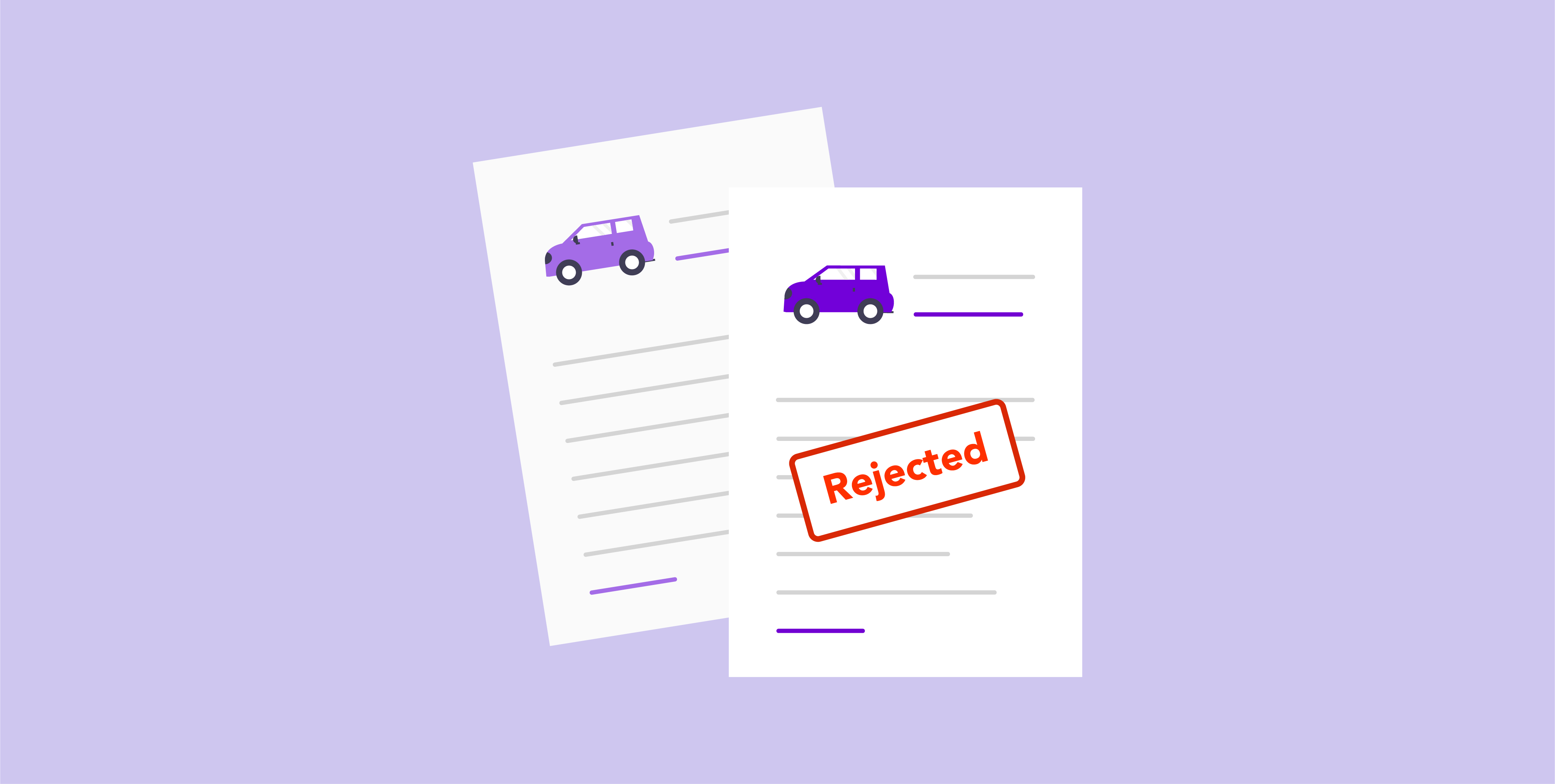 Why car loan applications get declined or rejected