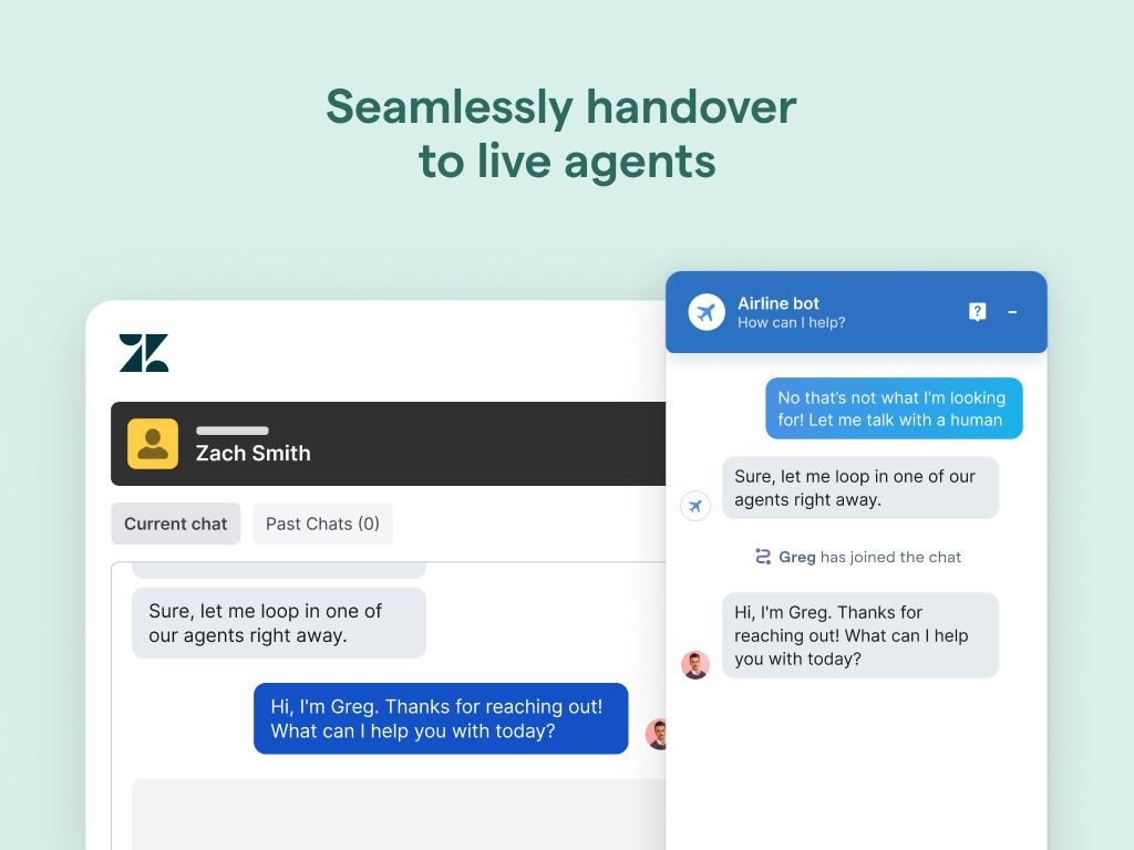 Mindsay live chat integration with Zendesk