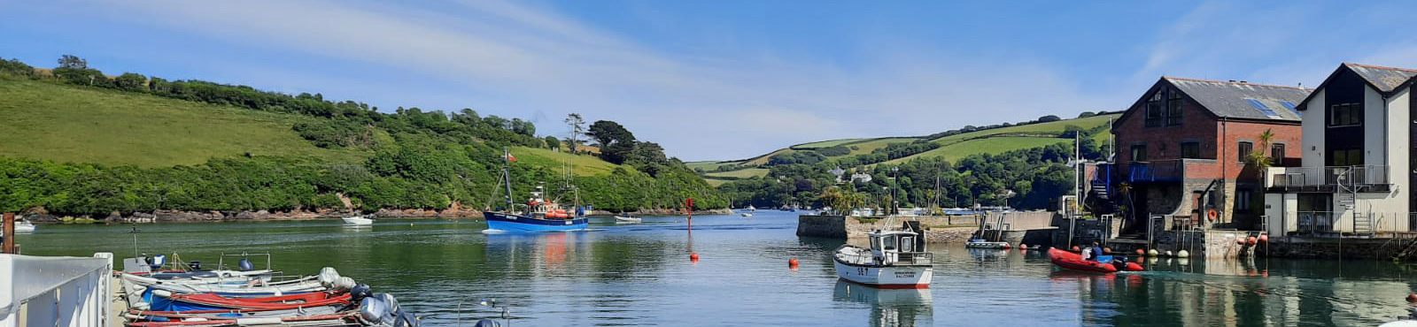 View from the Crab Shed, Salcombe
