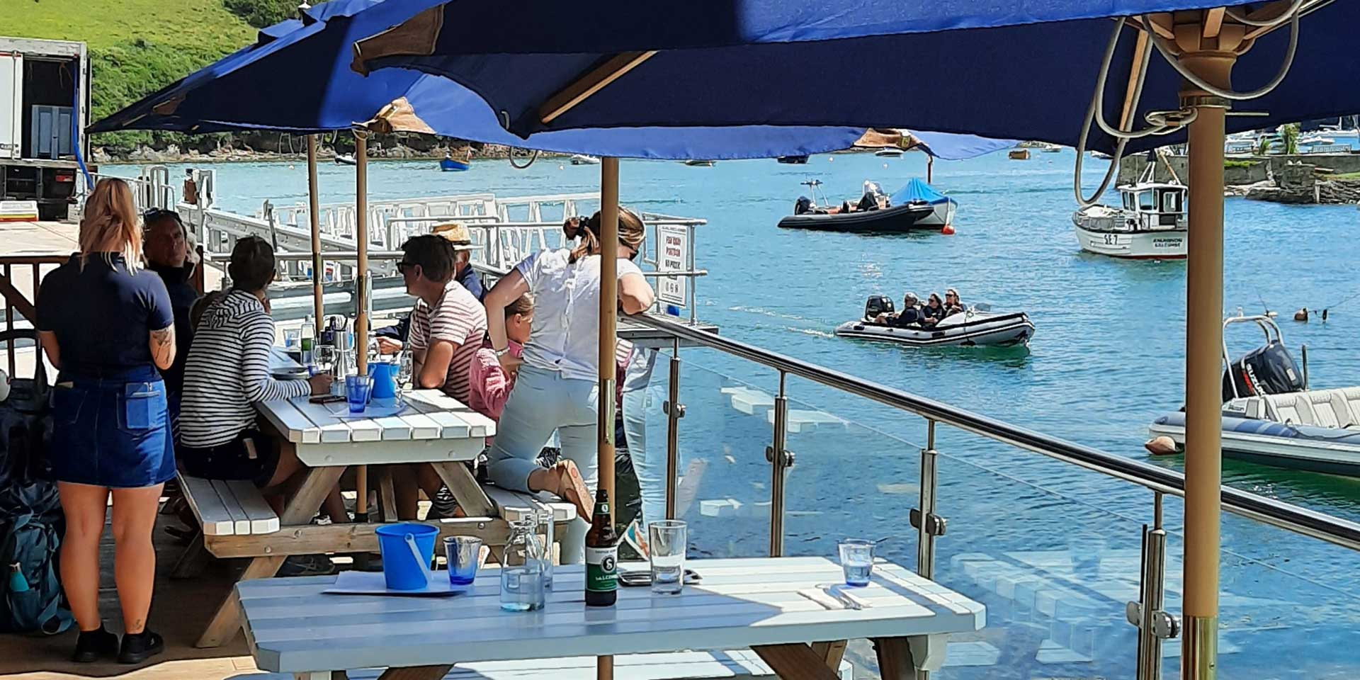 THe Crab Shed Salcombe for the finest fish and shellfish