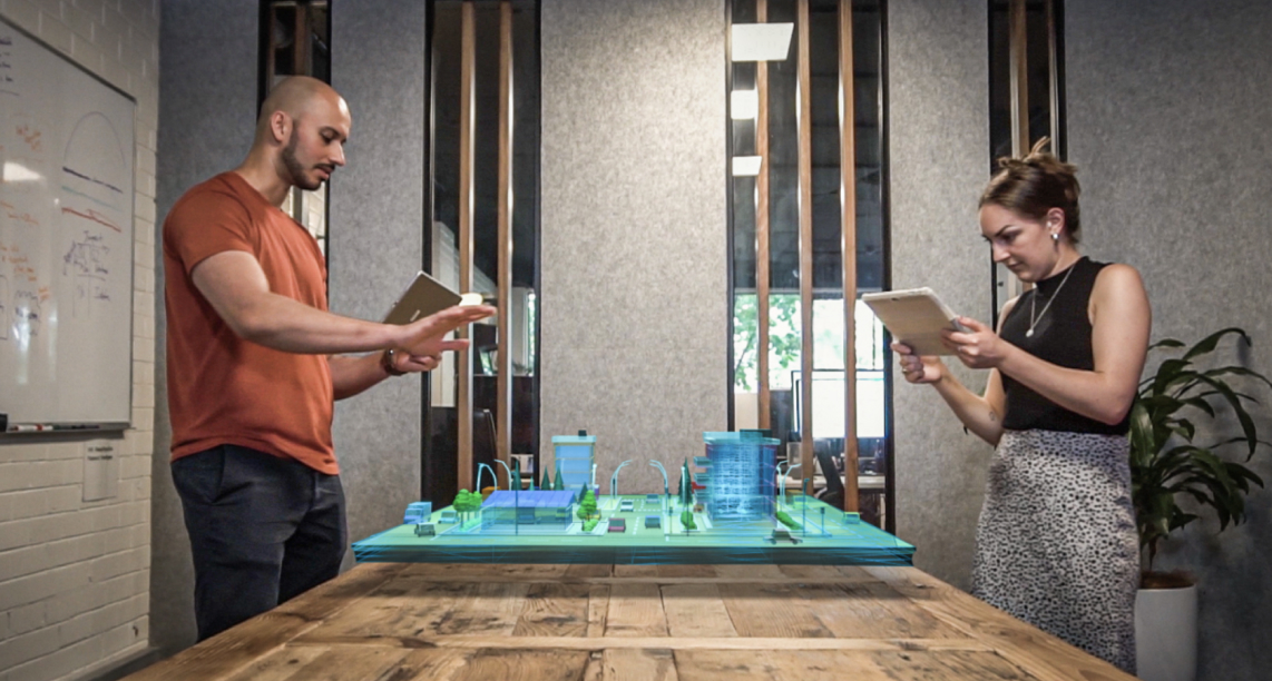 Working in Augmented Reality