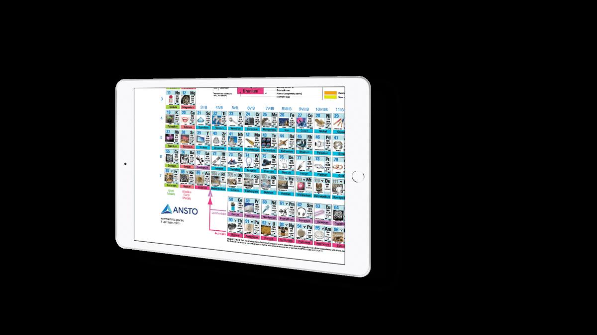 Featured work - ANSTO XR graphic element