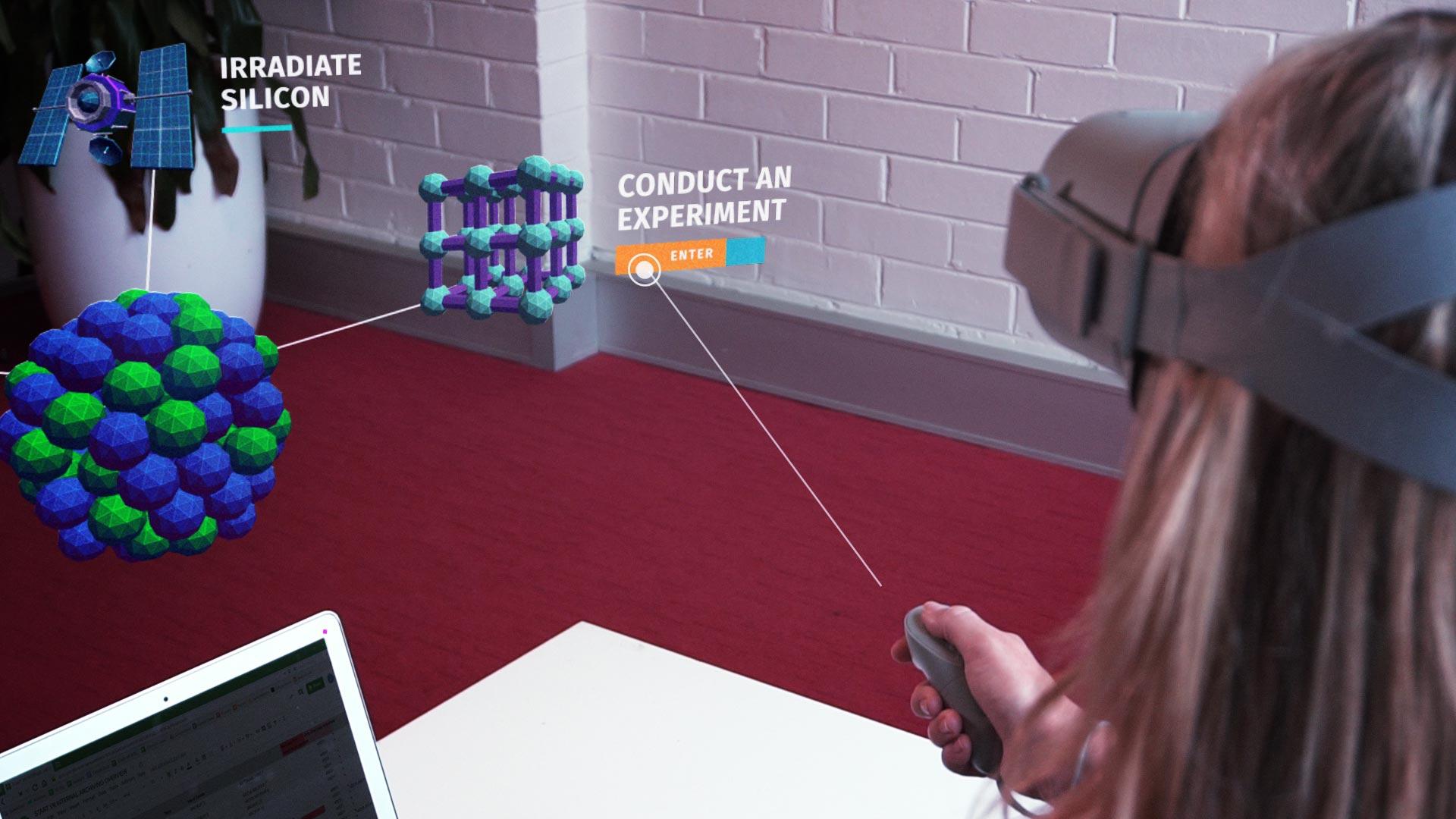 VR experience POV