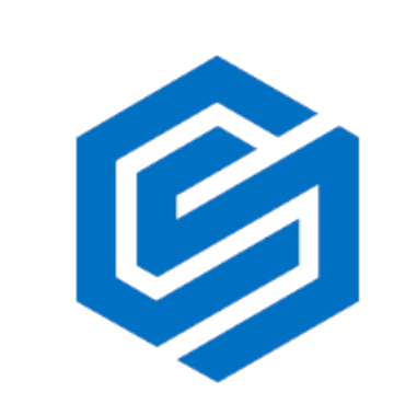 Cleat Street Capital Logo (Blue C and S intertwined in a hexagon shape