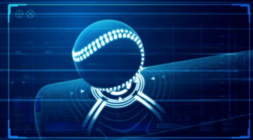 Stock image of baseball