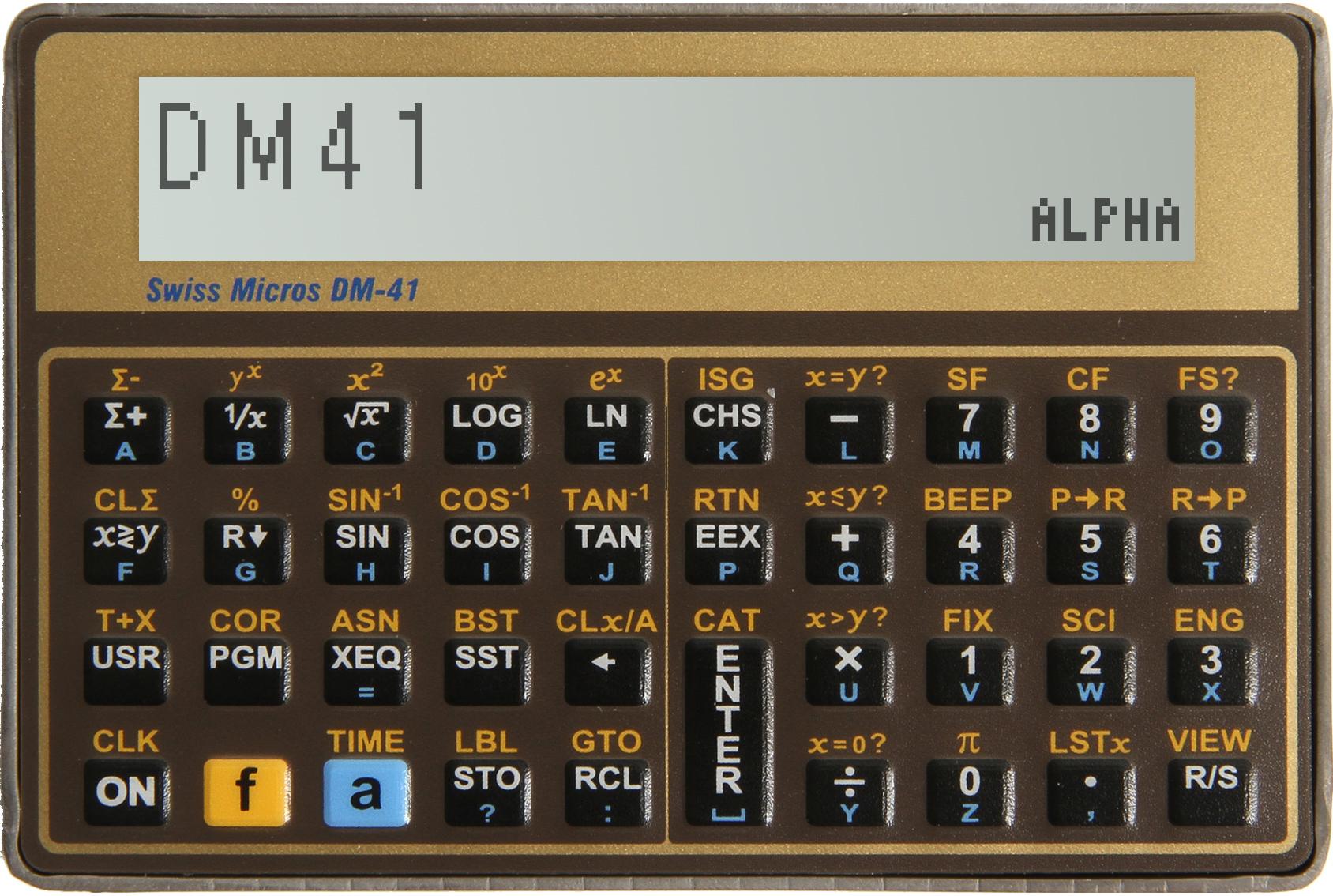 Model DM41